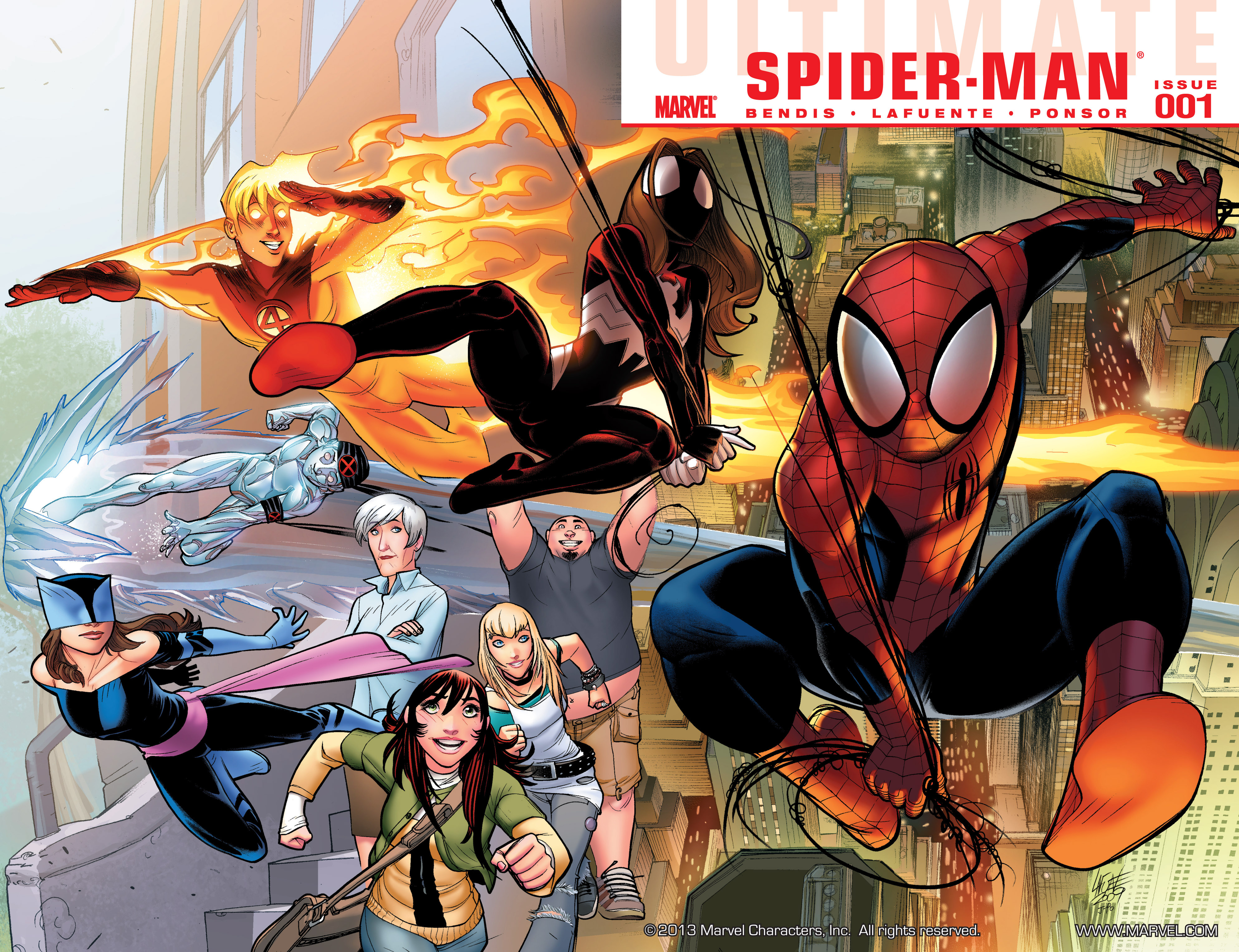 Read online Ultimate Spider-Man (2009) comic -  Issue #1 - 2