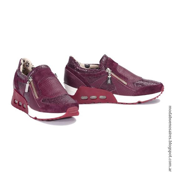 Zapatillas invierno 2016 moda mujer Viamo.