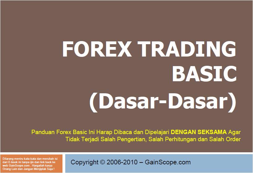 Ebook forex indonesia gratis