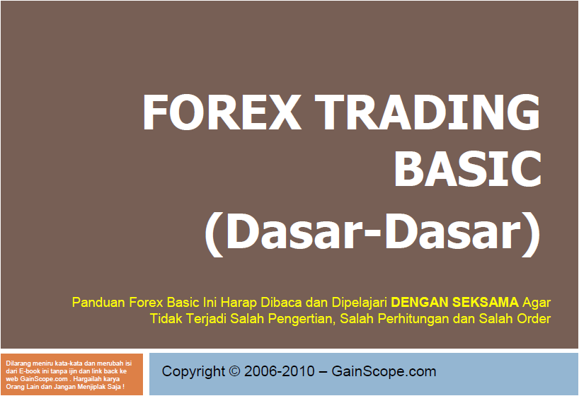 Belajar trading forex bahasa indonesia