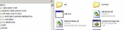Cara Flash Smartfren Andromax tipe Q G36C1H