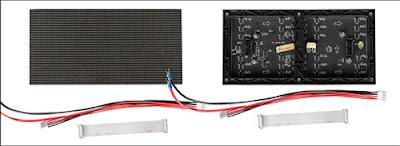 Màn hình led p4 module led sử dụng trong nhà