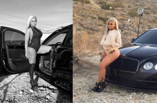 Black Chyna all out in new photos
