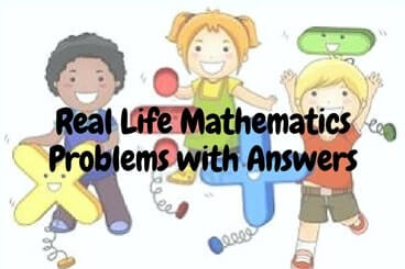 mathematics and real life problems