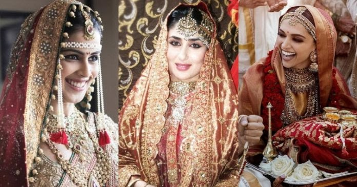 Here's how 10 bollywood actress looked in their bridal ...