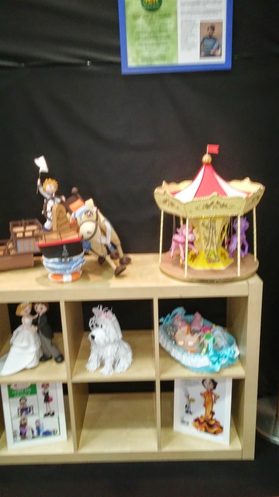 Carrusel, perro, barco y caballo fofuchas