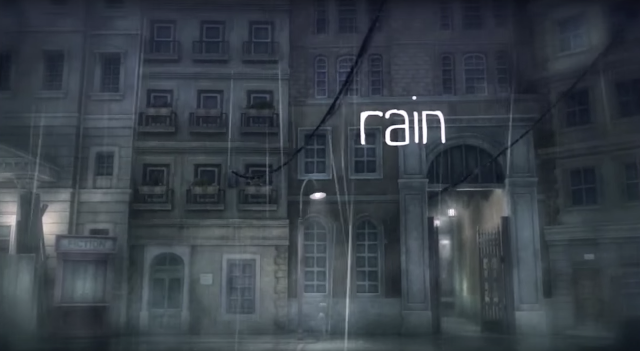 Rain the video game