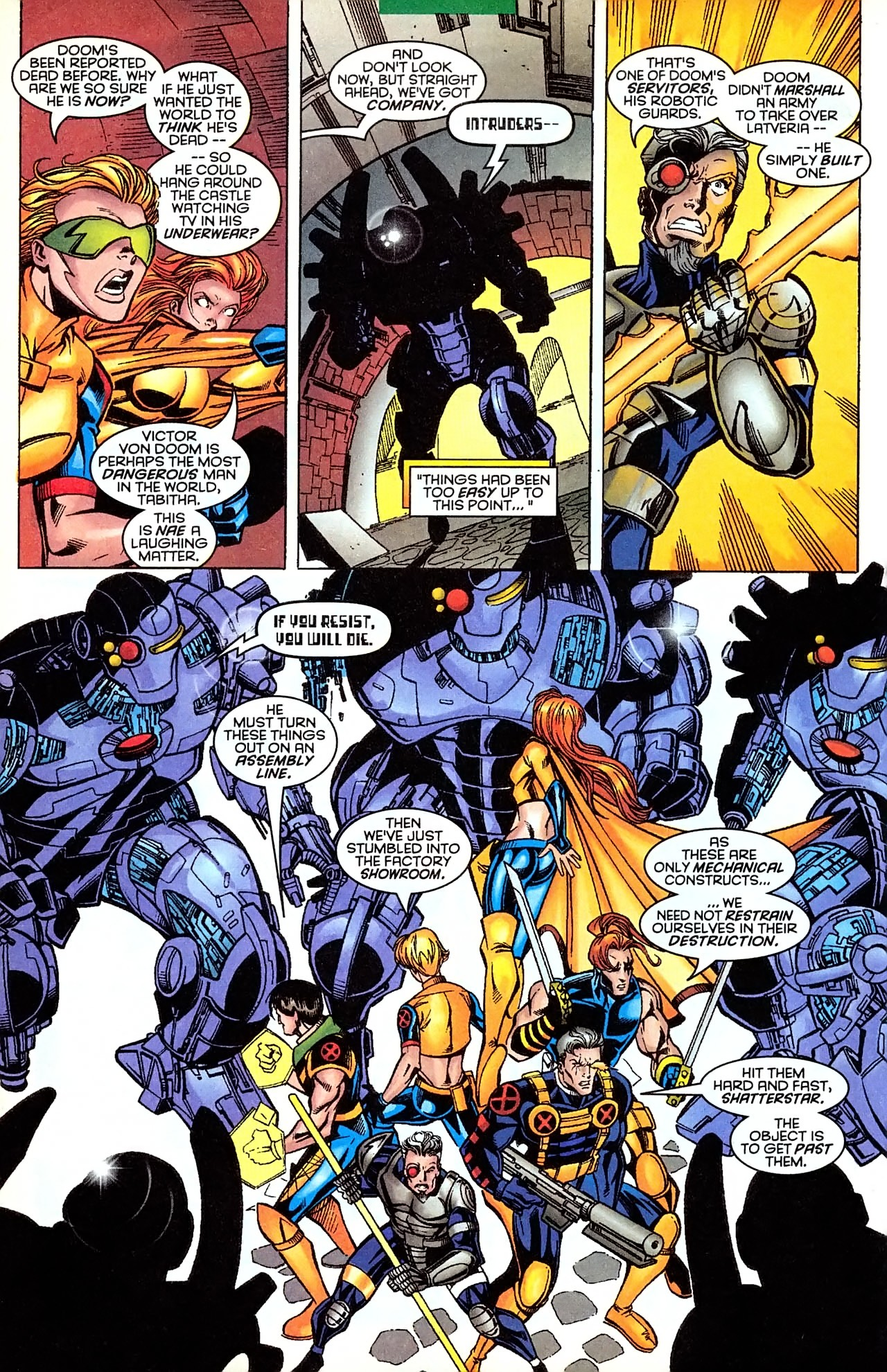 Read online X-Force (1991) comic -  Issue #63 - 16