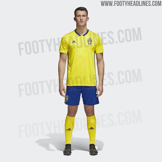 Sweden 2018 Home Kit Released Footy Headlines