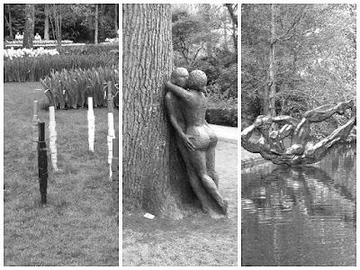 Парк квітів Койкенхоф: скульптури