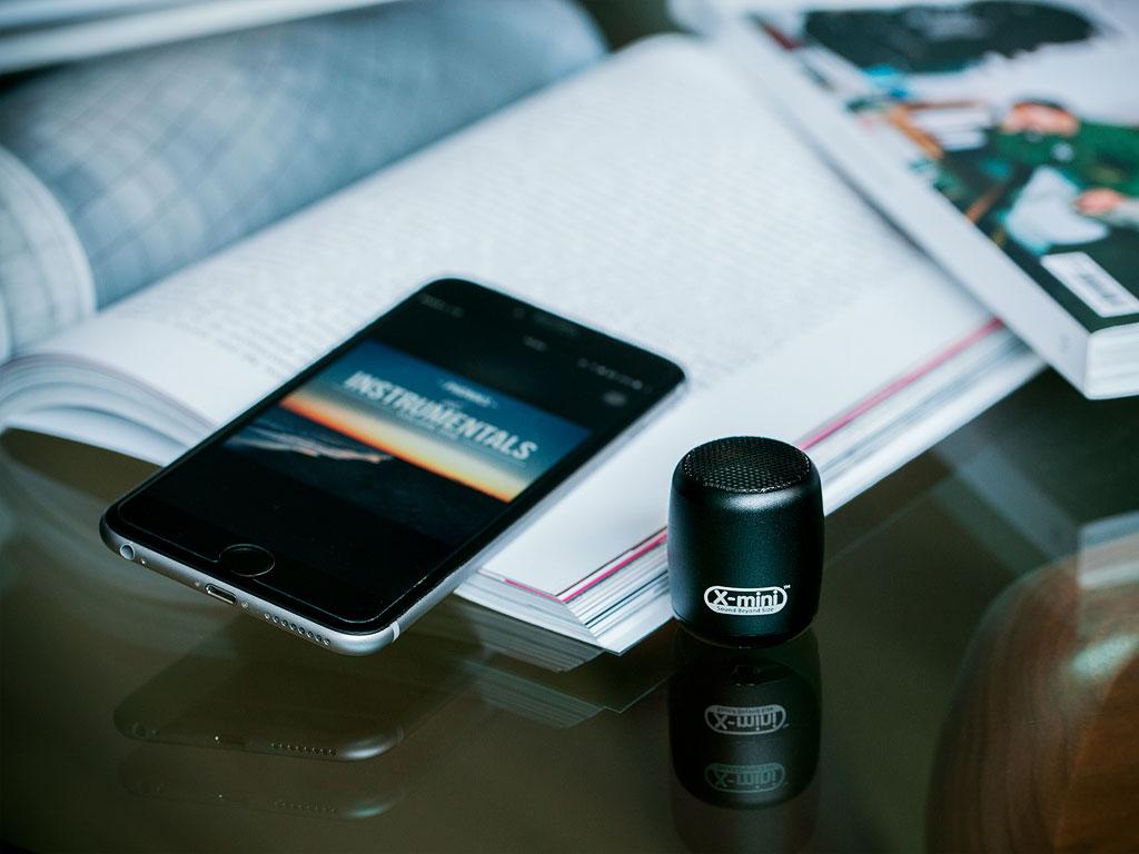 X-mini CLICK: Ultra Portable Wireless Bluetooth Speaker