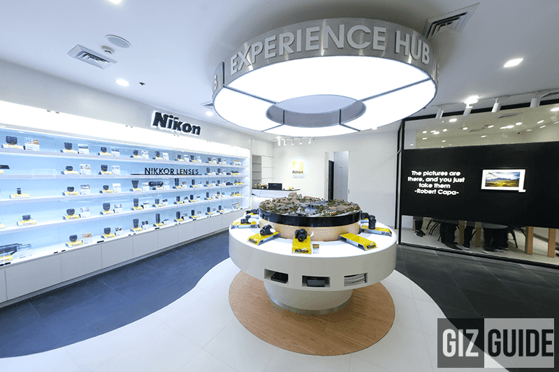 The first Nikon Experience Hub in the PH opens at Glorietta!