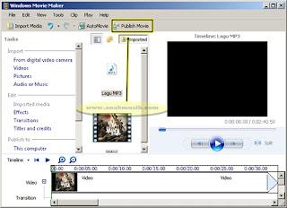Cara Menambahkan Lagu Pada Video Dengan Movie Maker Terbaru