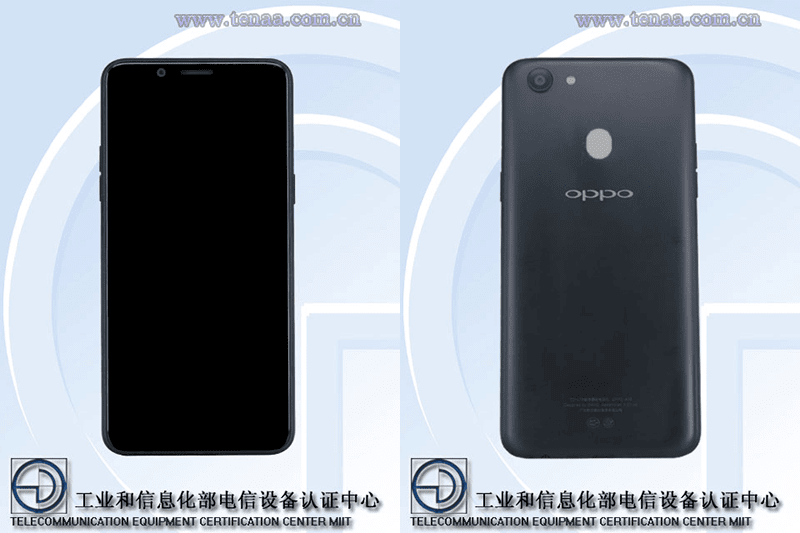 OPPO A73 w/ 5.99-inch 18:9 screen appeared on TENAA