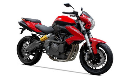 Benelli TNT 600i ABS right side