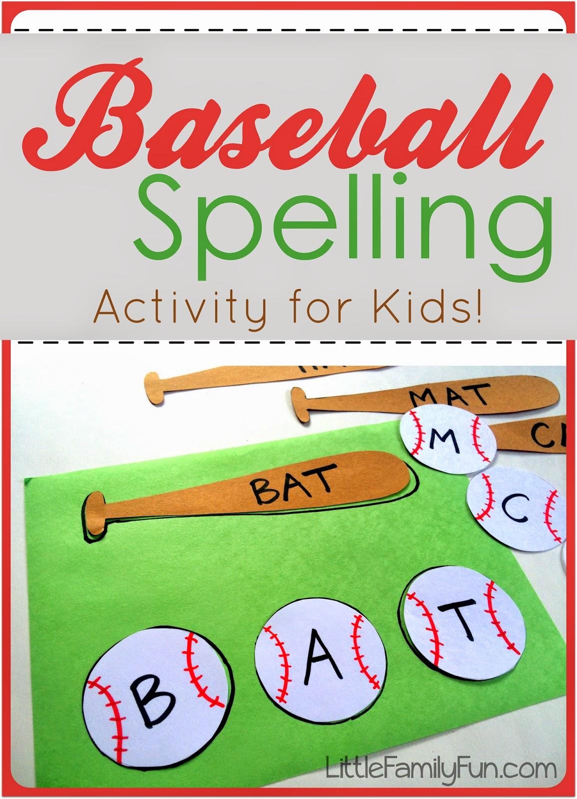 Baseball Spelling