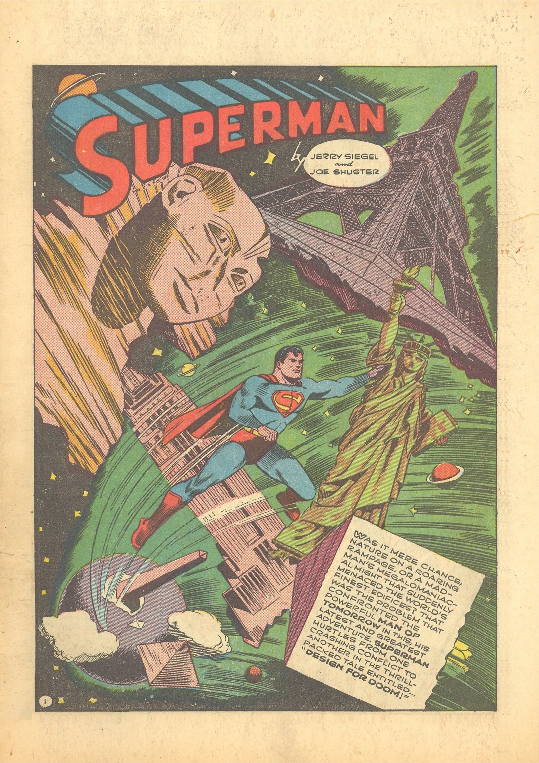 Action Comics (1938) 56 Page 1