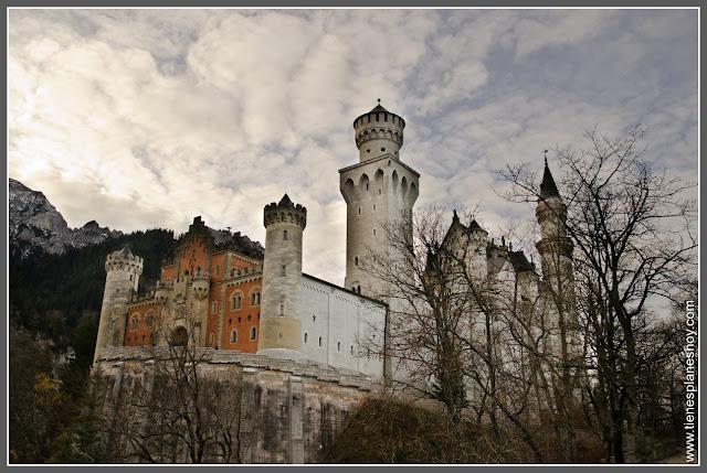 Castillo Neuschwanstein Baviera (Alemania)