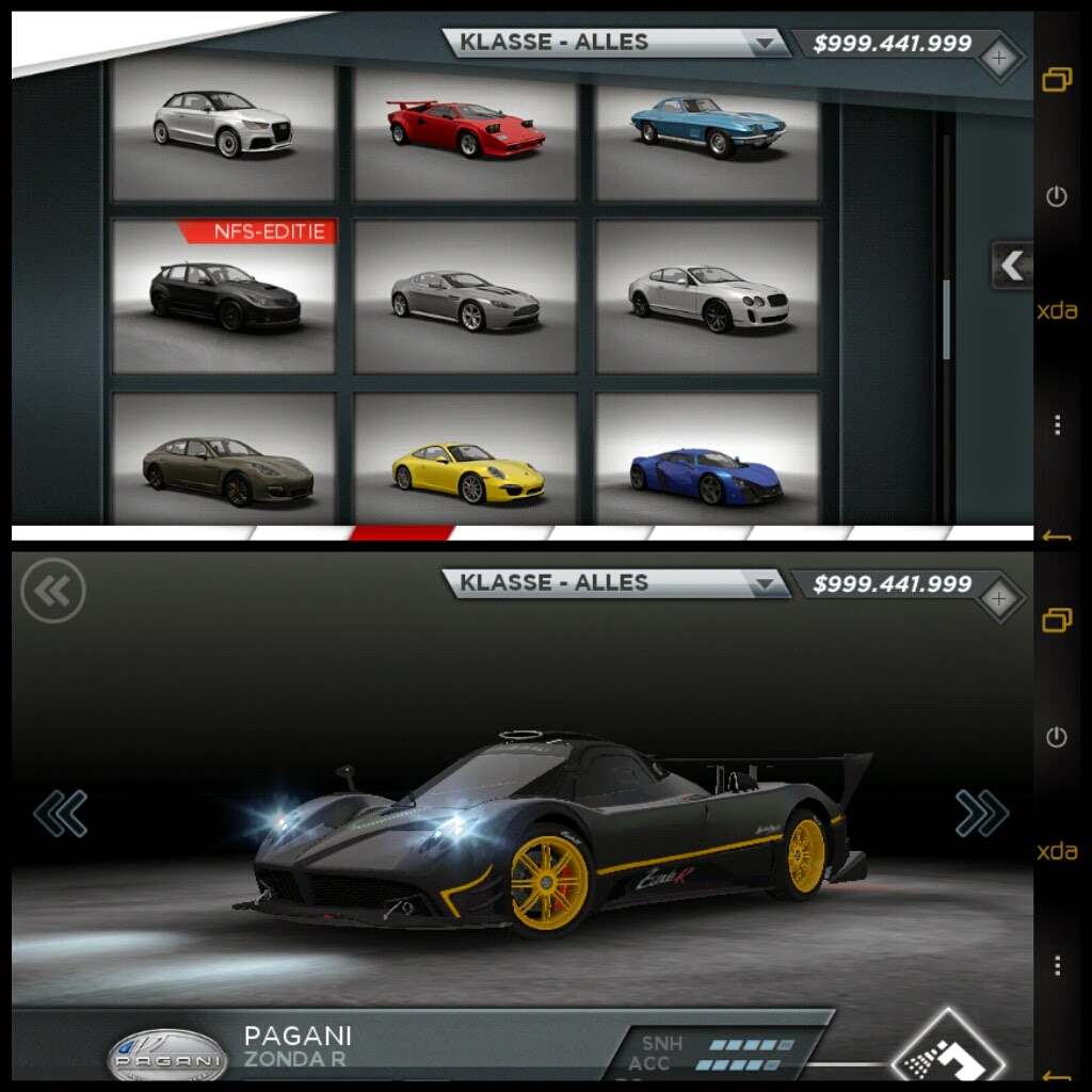 Nfs most Wanted Apk data