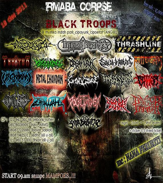 Coming Soon IRMABA CORPSE present BLACK TROOPS