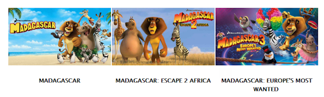 Madagascar sequels on Netflix