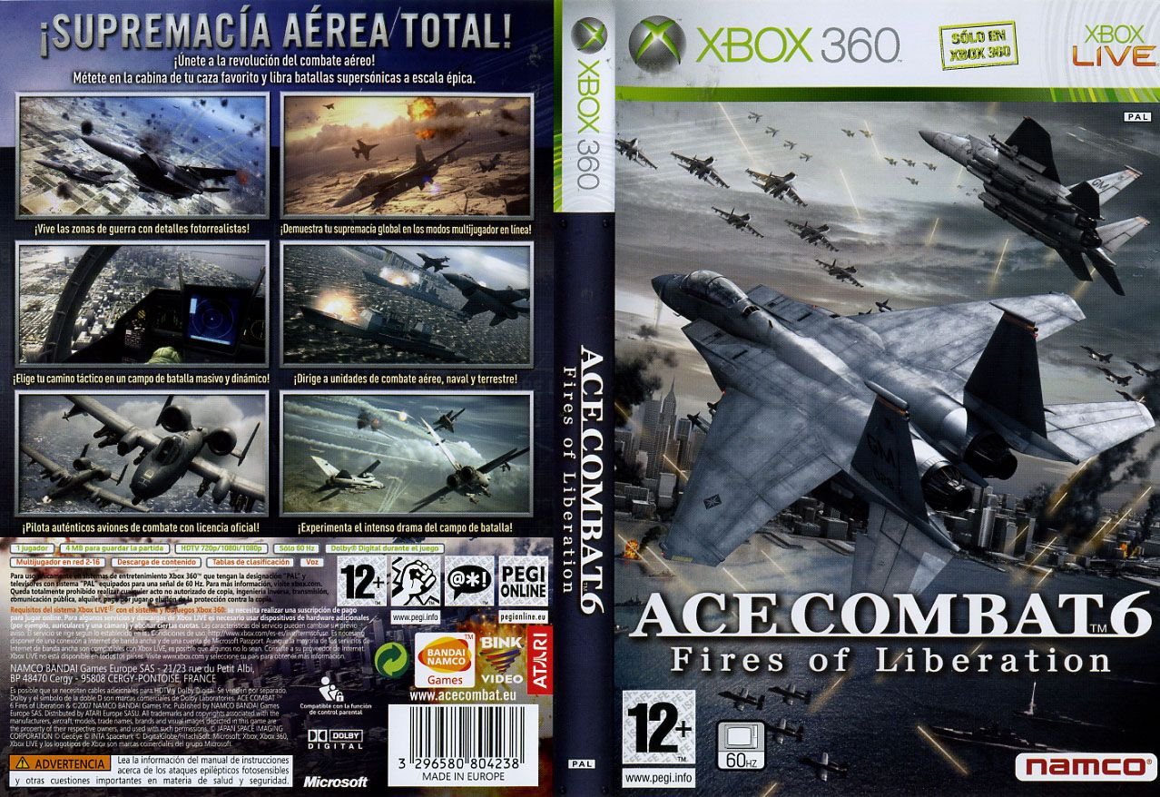 Juegos Xbox 360: Ace Combat 6 - Fires Of Liberation