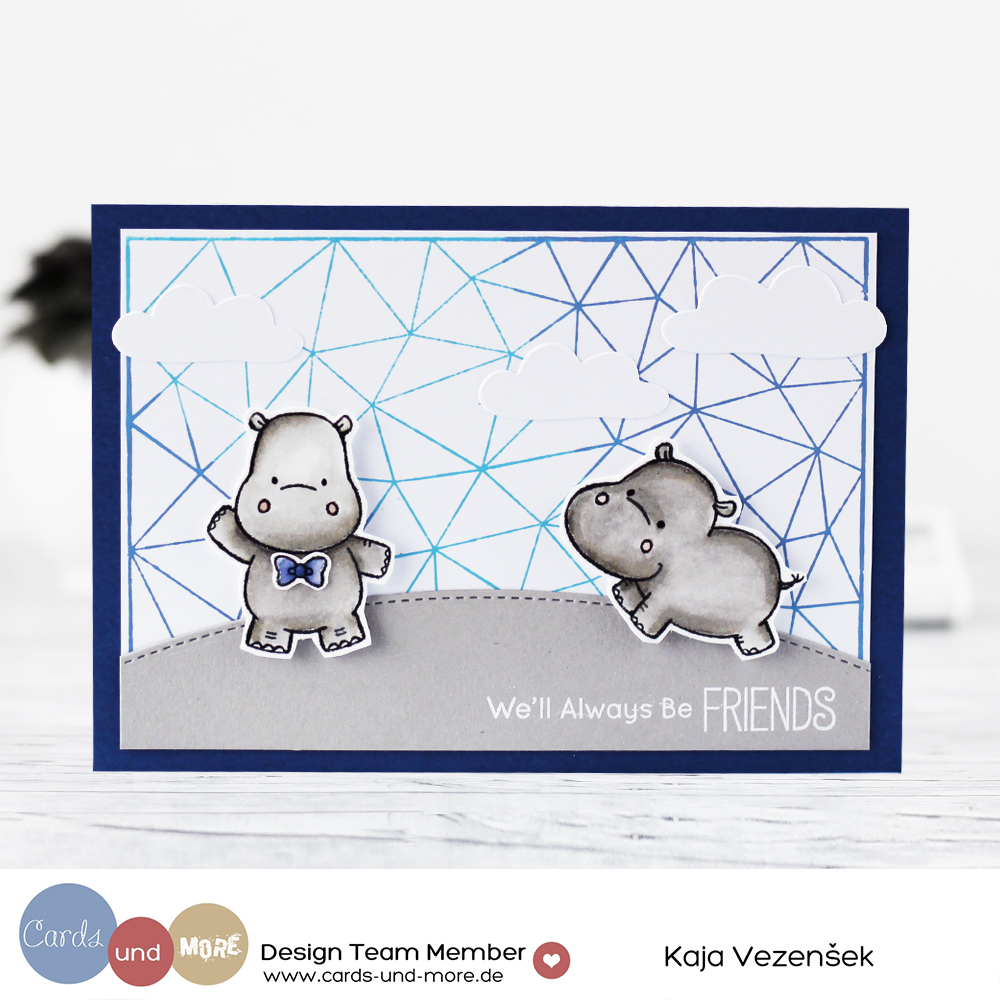 Hippo friends | Cards und more