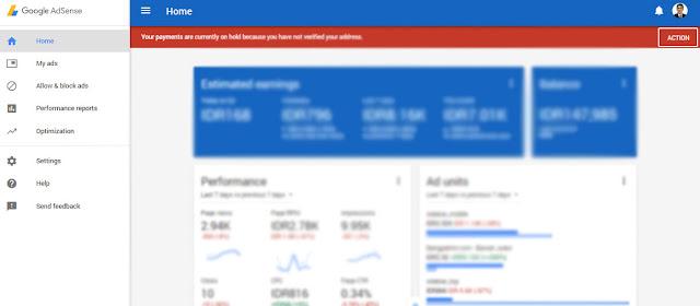 Cara Ambil Pin Google Adsense Di Kantor Pos