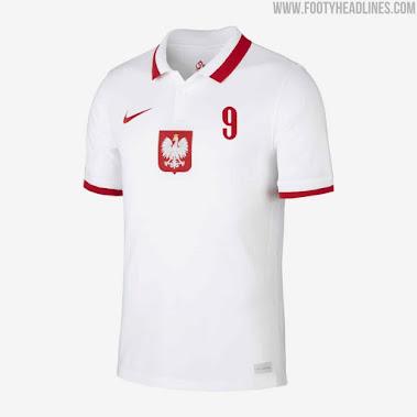 Sortie de la police unique du kit Nike Pologne Euro 2020  - Foot 2020