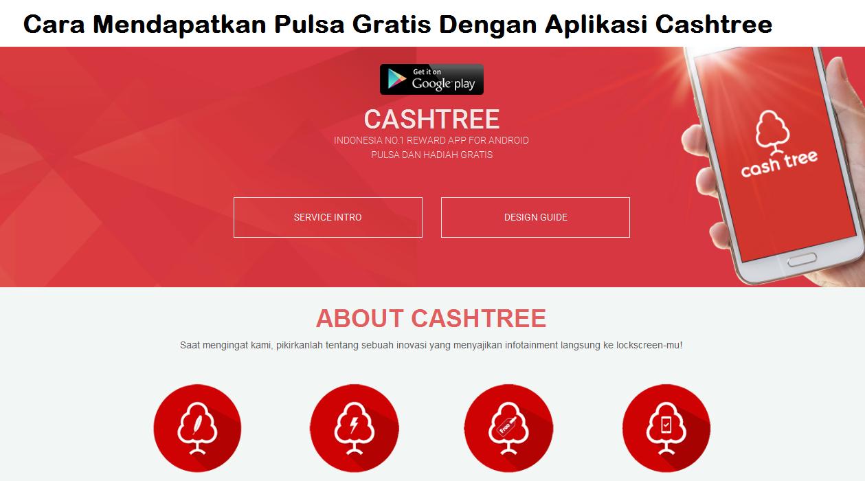 Cara Mendapatkan Pulsa Gratis Dengan Aplikasi Cashtree