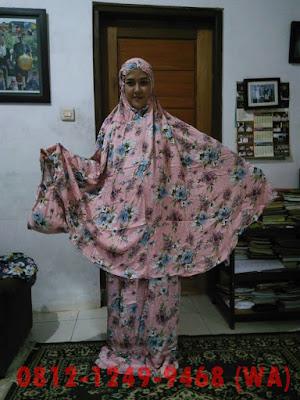 Grosir Mukena : Mukena Bali Bahan Cotton Rayon Super
