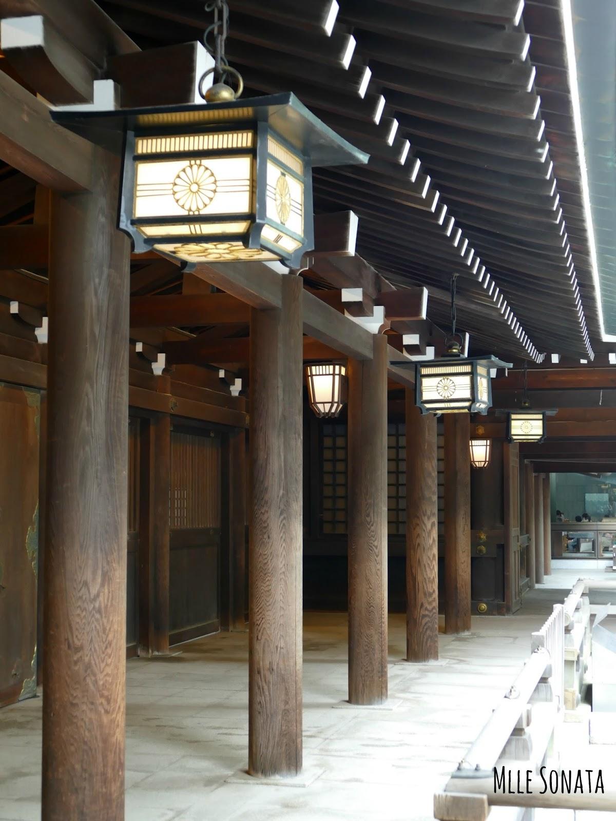 Temple Meiji Jingu à Tokyo.