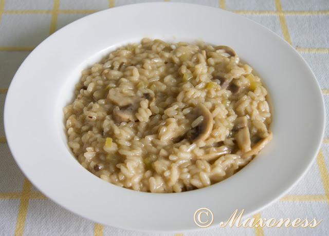 Ризотто с грибами. Итальянская кухня