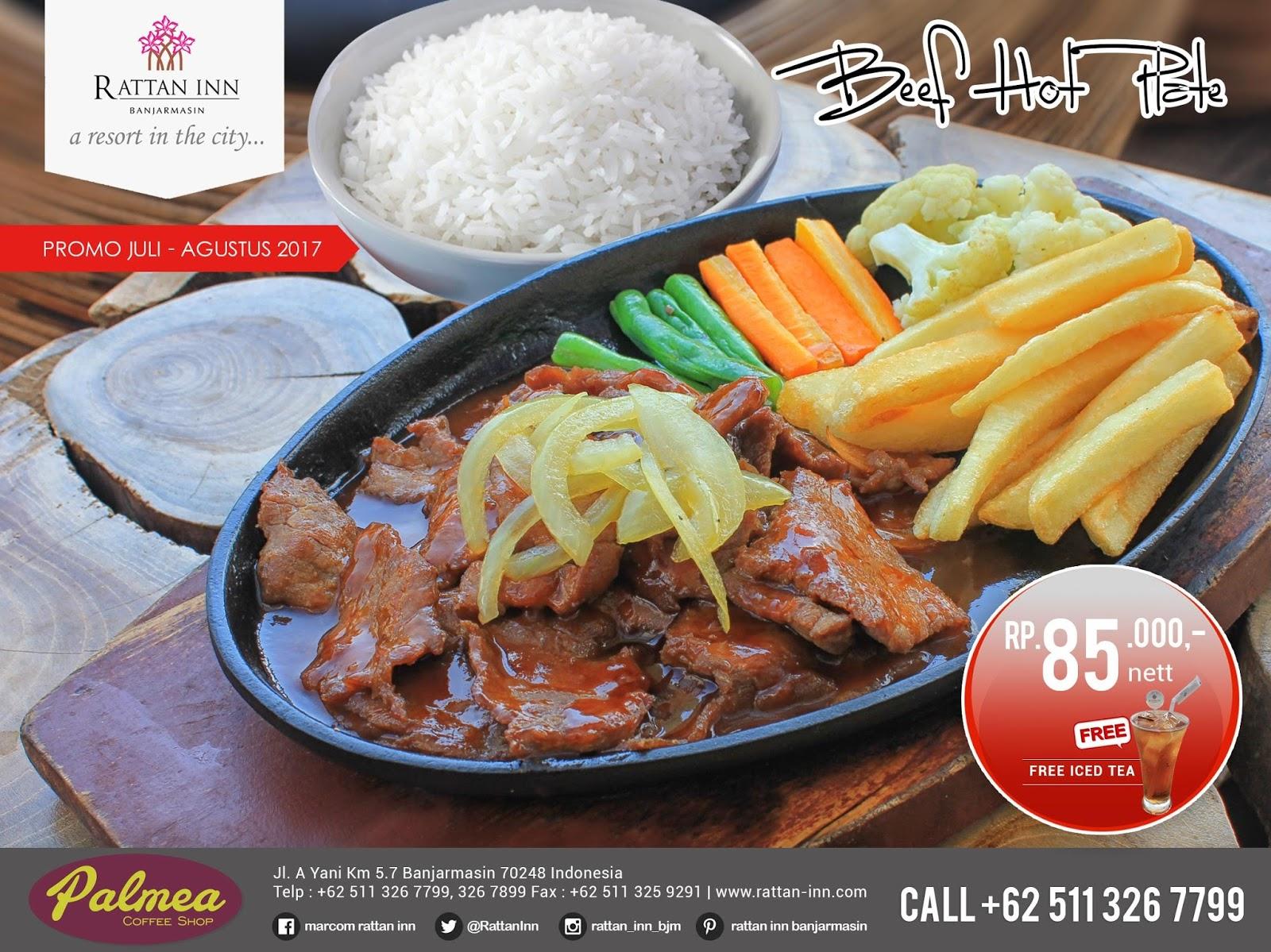Palmea Rattan Inn Banjarmasin Hotelier Indonesia Food And Restaurants