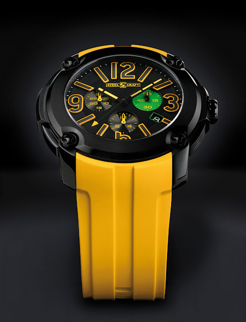 STEELCRAFT Brasil Concept Watch