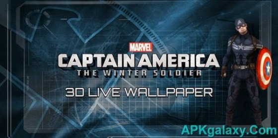 Download Captain America: TWS Live WP Premium v1 0 Apk