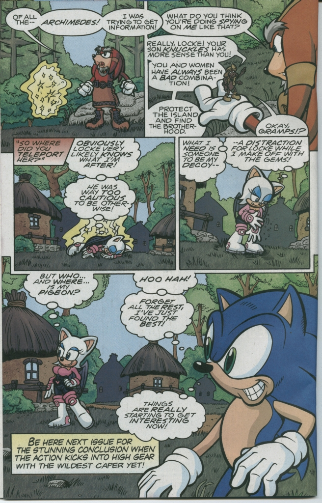 Read online Sonic The Hedgehog comic -  Issue #150 - 20