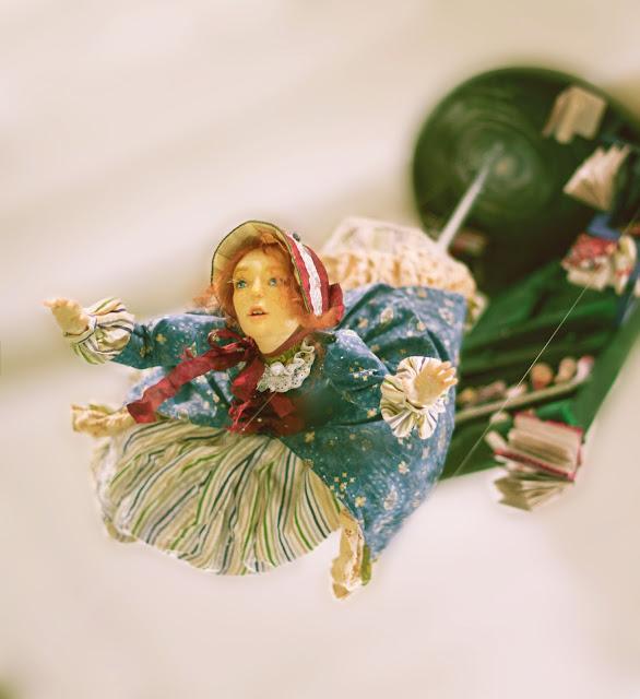 """Выставка авторской куклы в Самаре """"Куклы. Эмоции. Чувства."""", """"Алиса - время приключений"""". Автор Наталья Стукалова (Самара)"""