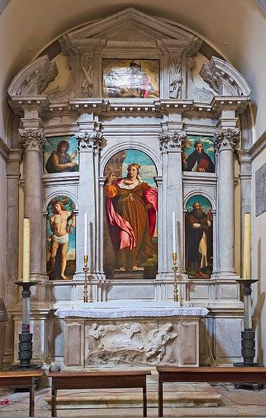 Altar de Santa María la Formosa