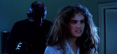 Heather Langenkamp and Robert Englund in A Nightmare on Elm Street (1984)