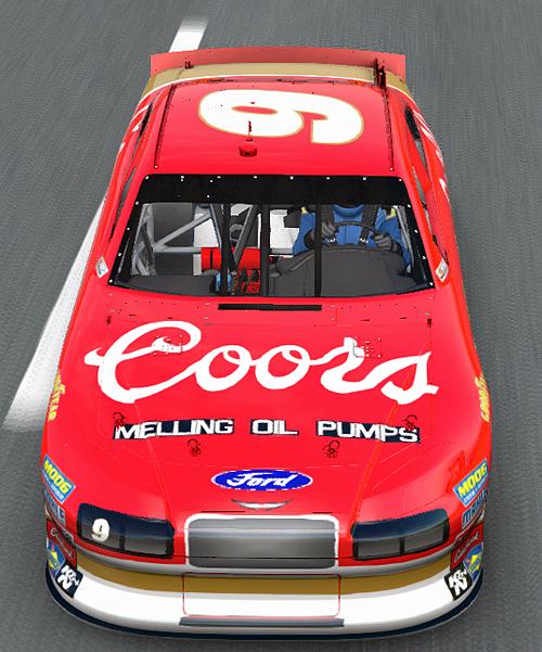 NASCAR The Game: Inside Line: #9 Bill Elliott Coors