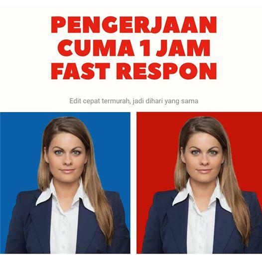jasa edit background pas foto