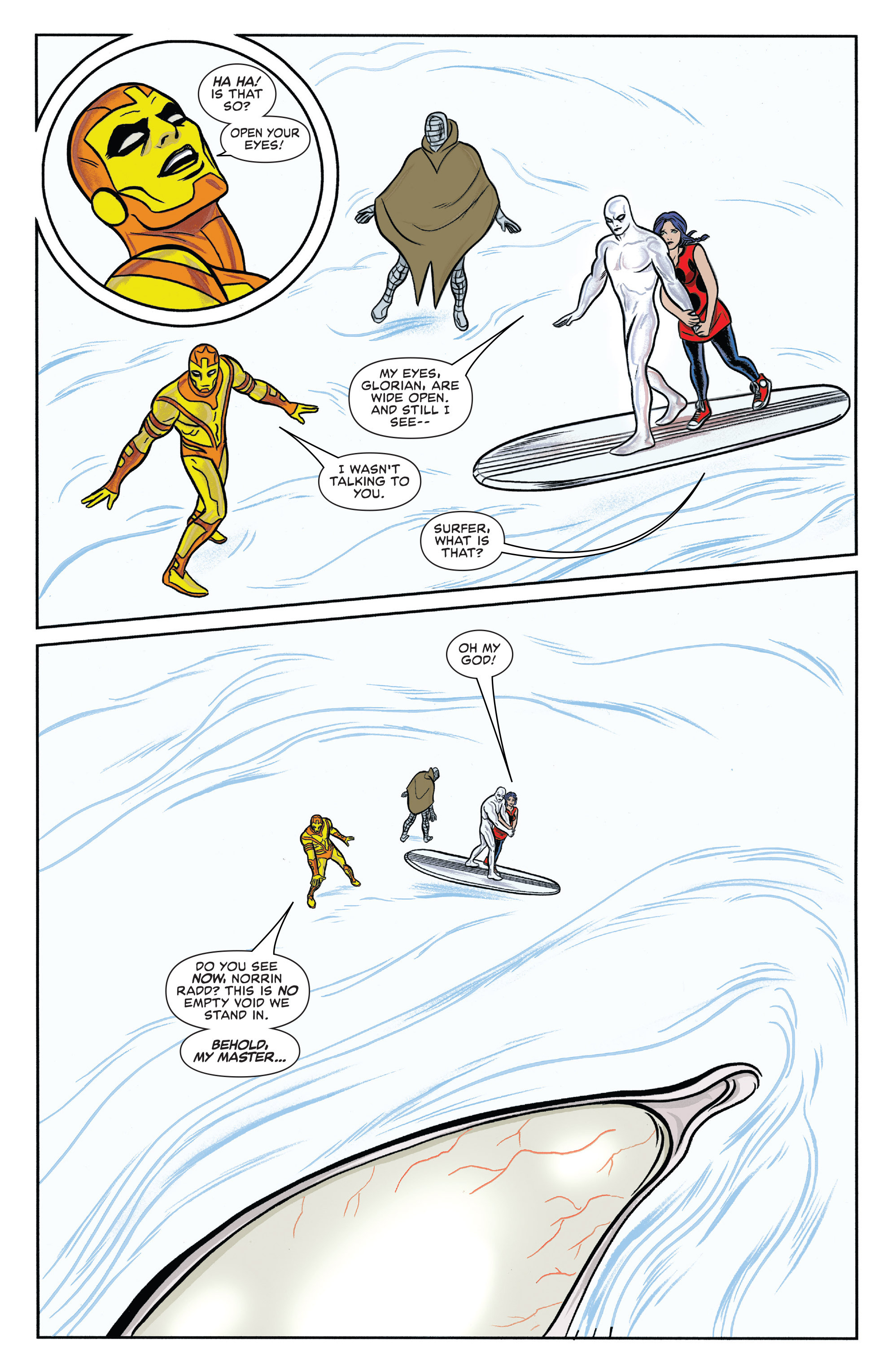 Read online Silver Surfer (2014) comic -  Issue #13 - 19