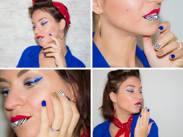 maquillage - pinup - kiss - lipart