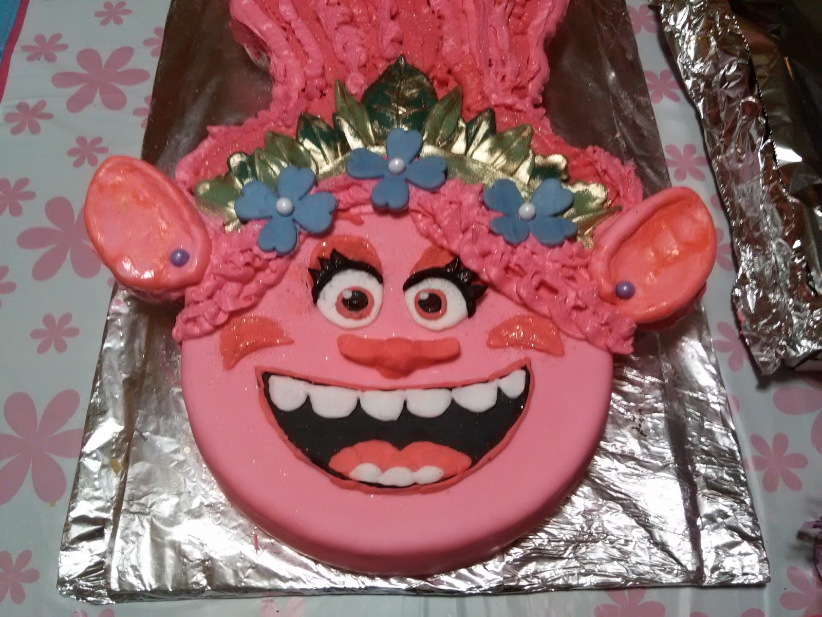 Birthday Cakes Nashville Tn ~ Pull apart troll birthday cake turning my hidden passion into a