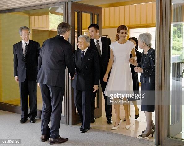 Японский император принял президента Аргентины
