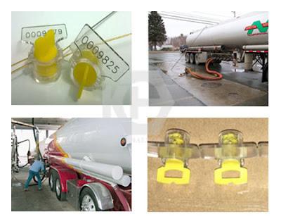 meter seal cho xe bồn xăng dầu