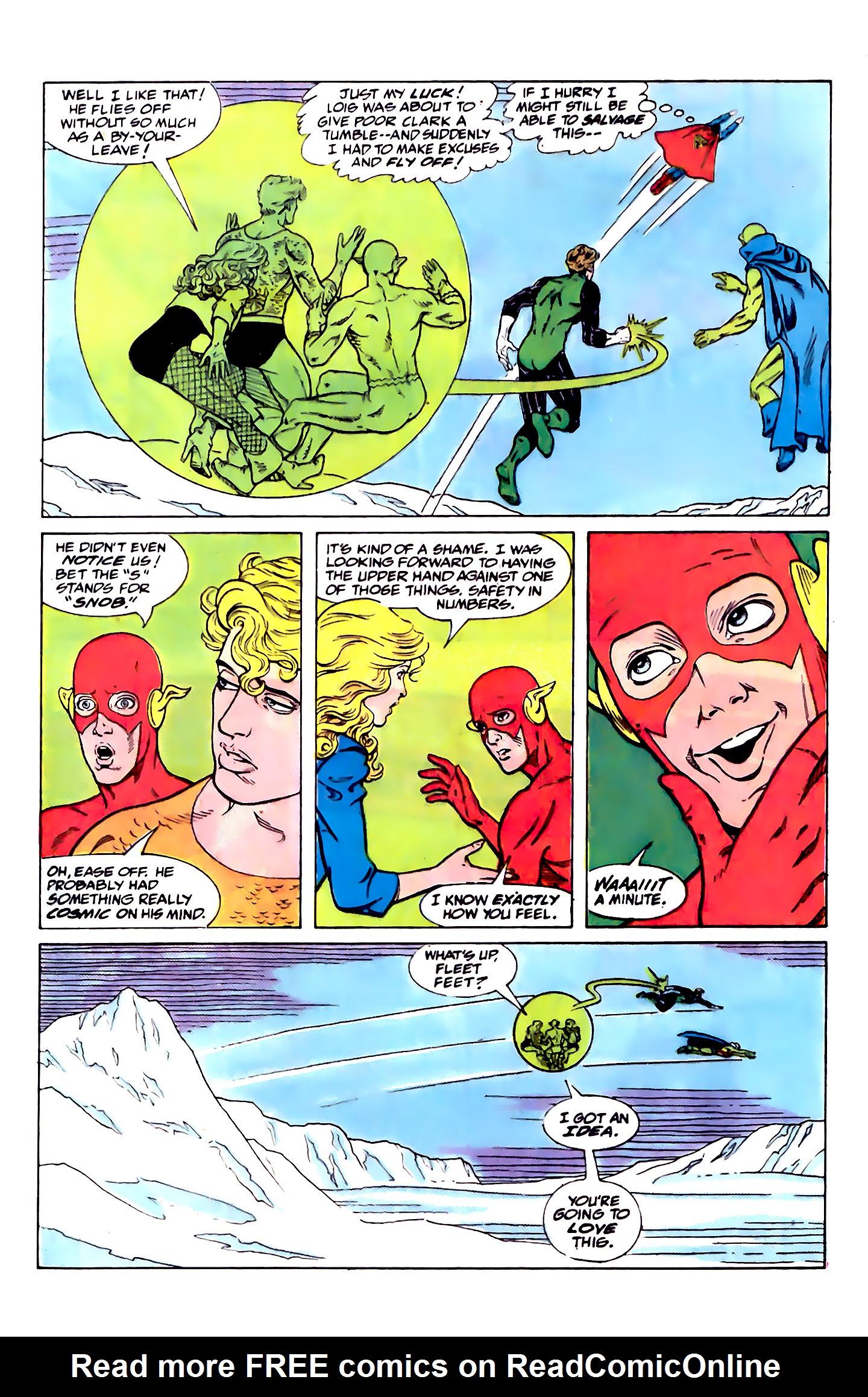 Read online Secret Origins (1986) comic -  Issue #32 - 37