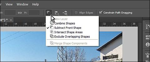 Invert vector mask in Photoshop CS6