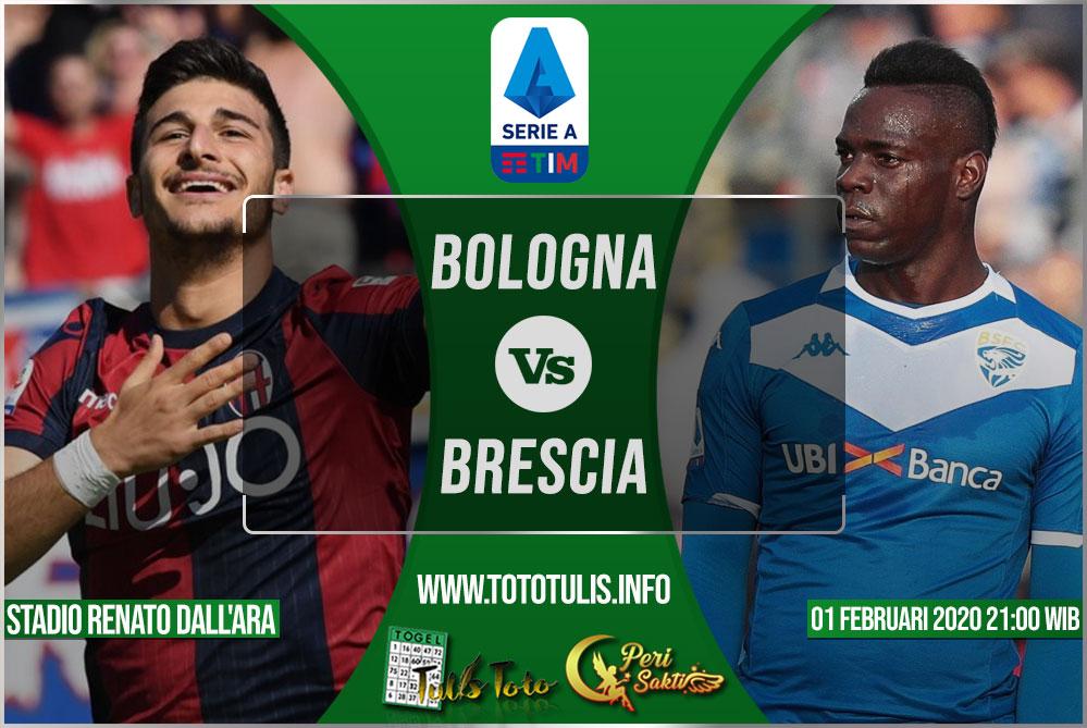 Prediksi Bologna vs Brescia 01 Februari 2020